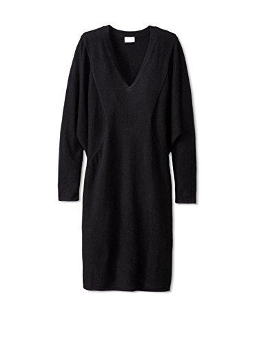 TSE Women's Cashmere V-Neck Sweater Dress
