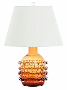Arteriors 17043 905 Contessa Glass Lamp Amber Best Buy