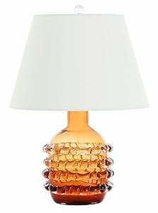 Arteriors 17043 905 Contessa Glass Lamp Amber Best Buy