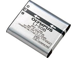 Oficial Genuino Olympus - Batería Ión Litio Li-50B para SP-800/810, XZ-1, Gama SZ, Gama VR-340 1010 1020 1030SW Tough 6000 6020 8000 8010 MJU 1010 1020 TG 610 620 630 810 XZ-1 XZ-10