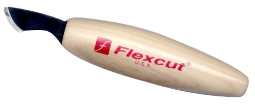 Flexcut Radius Knife Offers Woodcarvers A Variety Of Cutting Techniques