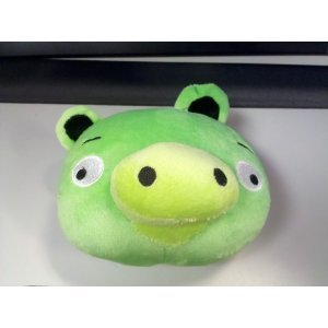 Green Cartoon Mini Pig Plush Toy Doll
