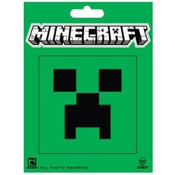 Minecraft Creeper Face Stickers Each