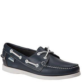 Buy Cheap Sebago Women's Docksides Boat Shoe – 9.5N Navy