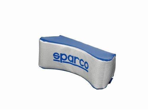 SparcoCORSA カーボンネックピロー ブルー/シルバー SPC4001 SparcoCORSA(スパルココルサ)