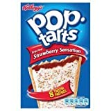 Kellogg's Pop Tarts Frosted Strawberry Sensation x 8 400G