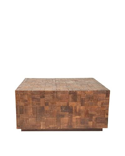 Jeffan Arcadia Square Coffee Table, Walnut