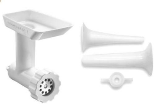 New NEW KitchenAid SSA +FGA Sausage Stuffer+Meat Food Grinder Stand Mixer Attachment (Pet Food Grinder compare prices)