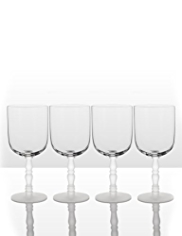 4 Marcel Wanders Wine Glasses