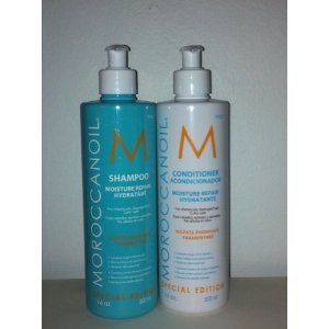 Moroccanoil 16 Oz Shampoo & Conditioner Set with Pump