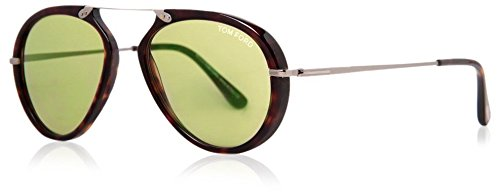 Occhiali da sole Tom Ford FT0473 C53 52N (dark havana / green)