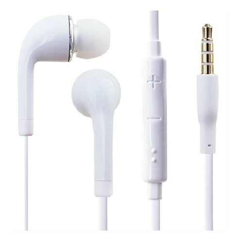 In-Ear Headset For Samsung Galaxy Siii S3 White