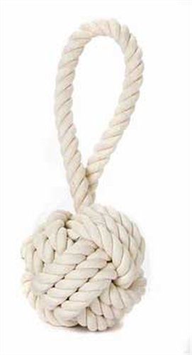 Multipet Nuts For Knots Heavy Duty Rope Dog Toy With Tug