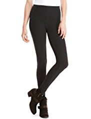 Indigo Collection Textured Cable Leggings