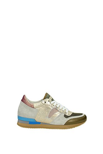 Sneakers Philippe Model Donna Camoscio Multicolore SPLDMC01 Multicolor 39EU