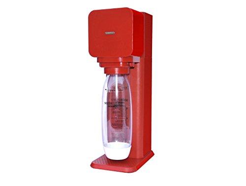 8718692612297 Sodastream Play Starterset inclusiv 1 x Starter CO² Zylinder und 1 x Wasserflasche Inhalt 1 Liter, rot