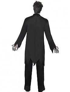 Smiffy's Adult Zombie Priest Costume