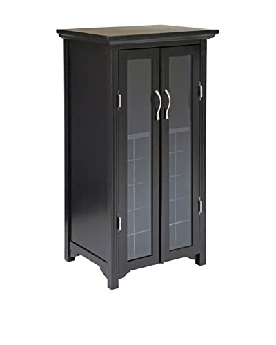 Luxury Home Mason Contemporary 20-Bottle Wine Cabinet, Dark Espresso