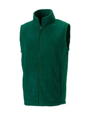 Russell 872M Mens Outdoor Fleece Gilet Bottle Green L