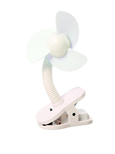 Dreambaby Tee-Zed Clip on Fan - White - 1 Count (Foam Clip On Fan compare prices)