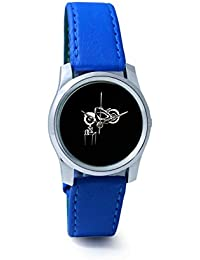 BigOwl Bike Is My Reality Analog Men's Wrist Watch 1293804536-RS2-S-BLU