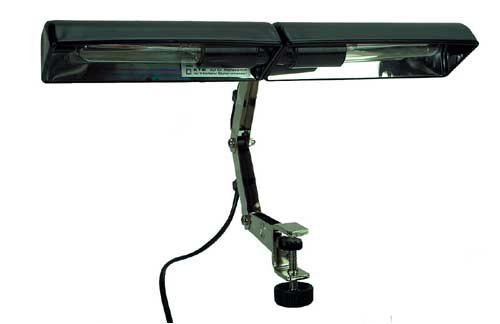 K & M Double Music Stand Light 122/6