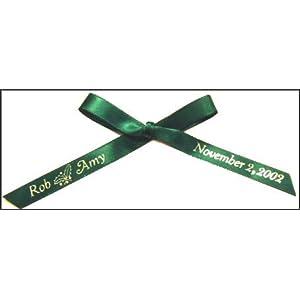 100 Personalized Satin Ribbon
