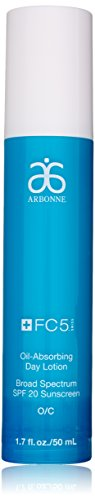 Arbonne FC5 Nurturing Day Lotion with SPF 20, 1.7 Ounce