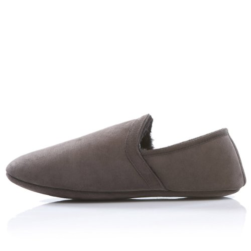 Cheap Dominion 'Catchee Monkey' Men's Shearling Slippers (B003YYI4RA)