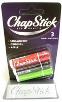 chapstick-triple-pack-lip-health-3-great-flavours-strawberry-original-and-apple