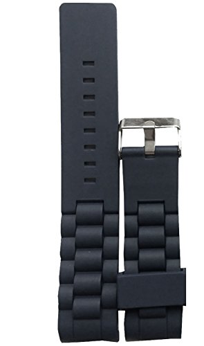 new-curved-silicone-rubber-watch-strap-band-waterproof-with-buckle-20mm-black