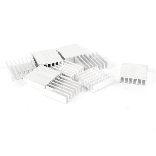 uxcell-10-pcs-20mm-x-20mm-x-6mm-aluminum-heatsink-for-ic-mosfet-scr