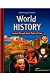 9780547018546: World History: Ancient Through Early Modern Times