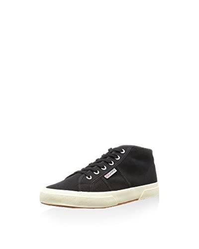 Superga Hightop Sneaker schwarz