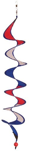In the Breeze Red, White and Blue Curlie Spinner, 24-Inch