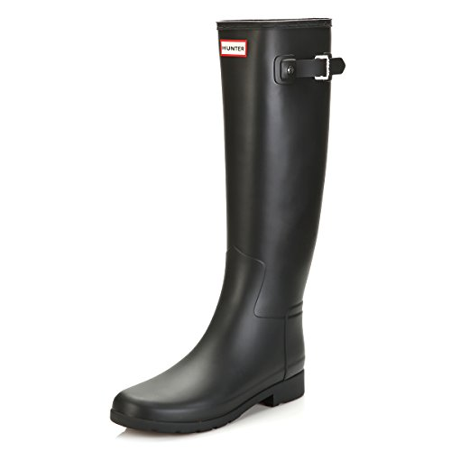 Hunter Original Donna Nero Refined Stivali di Gomma-UK 5