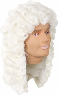 Adult Deluxe Classic Judges Costume Wig