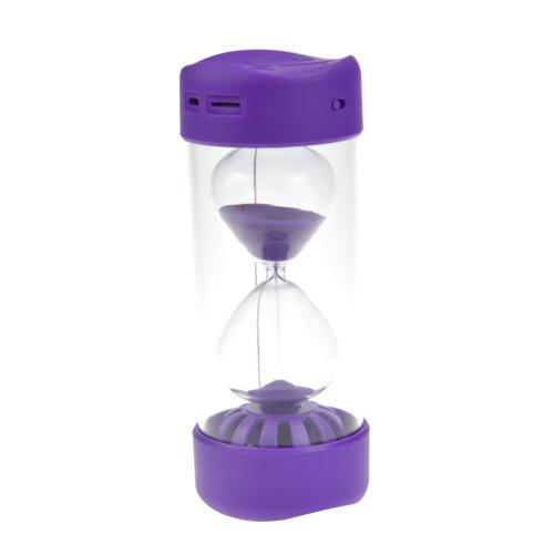 Baxia Mini Hourglass Bluetooth Speaker Best Gifts Presents (Purple)