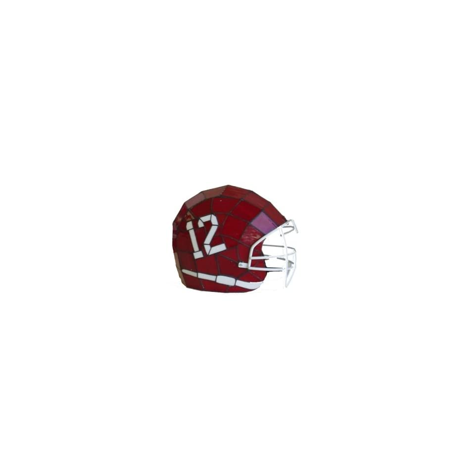 Alabama Crimson Tide Glass Helmet Lamp