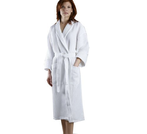 Winware Waffle bath robe (A Quality Bath Robe with a classic waffle texture)