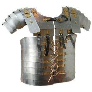 Amazon.com : Roman Lorica Segmentata Body Armor Breast Plate Full Size