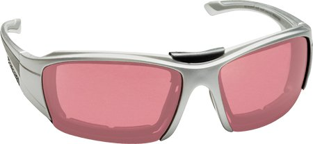 Silver Men's Pepper's Road Warrior Polarized Photochromic Sunglasses