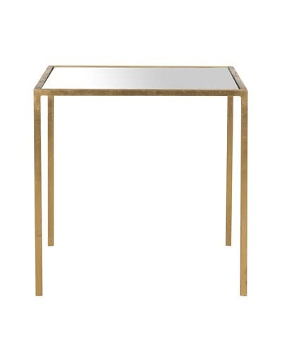 Safavieh Kiley Accent Table, Gold/Mirror