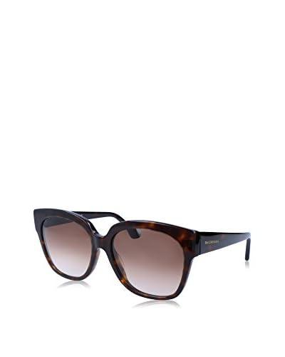 Balenciaga Occhiali da sole BA0015 17 140 52F (59 mm) Marrone/Nero