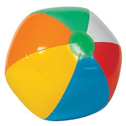 Inflatable Beach Balls - 12in (Each) - Party Supplies
