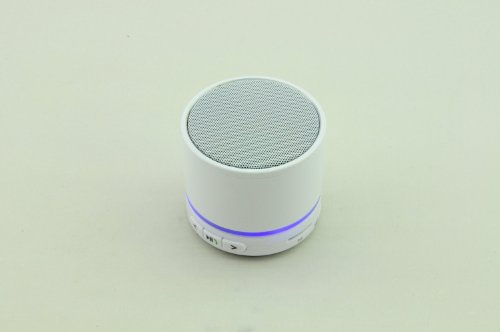Aborn Mini Beatbox Support Bluetooth Tf Slot Handfree Stereo Speaker Beats 5.0 /White