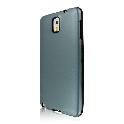 Empire Mpero Kollektion Fusion AL Schutzhülle für Samsung Galaxy Note3 N900A/N900V/N9000/N9002/N9005/N900P/N900T, Grau