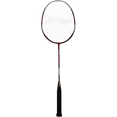 Li-Ning G-Tek 88 II Muscle Badminton Racquet (Red/Grey)
