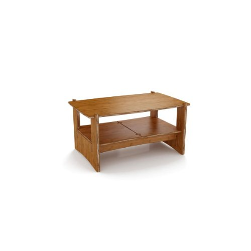 Legare Sustainable No Tools Assembly Bamboo Coffee Table