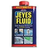 Brand New. Jeyes Fluid Disinfectant Deodoriser Cleaner 1 Litre Ref 124003